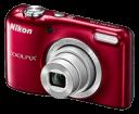 Φωτογραφική Nikon Coolpix L29 Red + Coolkit (Φορτιστής-Μπαταρίες-Θήκη)