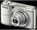 Φωτογραφική Nikon Coolpix L27 silver + Coolkit (Φορτιστής-Μπαταρίες-Θήκη)