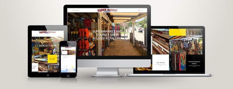 Δημοσίευση ιστοσελίδας για Supermarket Soulas στην Λάσση