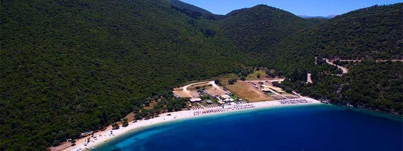 Εγκατάσταση παραγγελιοληψίας στο Antisamos Blue Beach