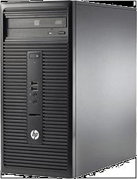 Υπολογιστής HP 280 G1 Microtower(N0D96EA) με CPU i3