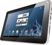 Tablet Bitmore LineTab701c White - Black