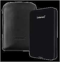 """Εξωτερικός Δίσκος Intenso 2,5"""" Memory Drive 500GB USB 3.0 Black"""