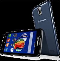 Lenovo Smartphone A328 Black dual με οθόνη 4.5 ιντζών