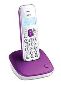 Ασύρματο τηλέφωνο AEG Voxtel D100 Purple