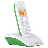 Ασύρματο Τηλέφωνο Motorola S1201 Πράσινο