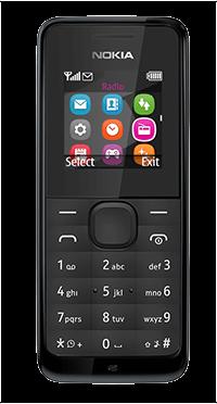 Κινητό Τηλέφωνο Nokia 105 black