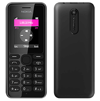 Κινητό Τηλέφωνο Nokia 108 Dual SIM Black