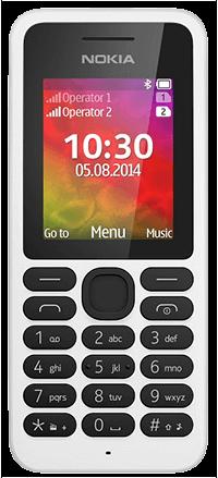 Κινητό Τηλέφωνο Nokia 130 Dual SIM White
