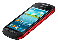 Smartphone Samsung Xcover 2 S7710 black/red