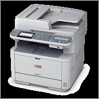 Πολυμηχάνημα laser OKI MB471dnw με fax και 3 έτη εγγύηση