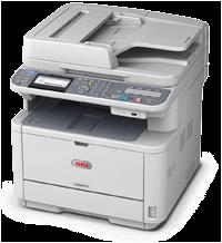 Πολυμηχάνημα laser OKI MB451dn με fax